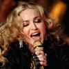 Madonna performs during the Super Bowl XLVI Halftime Show.