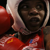 """""""When I get in the ring, what am I telling myself? 'Stay calm. Stay calm! This is my ticket,' """" says boxer Tyrieshia Douglas."""