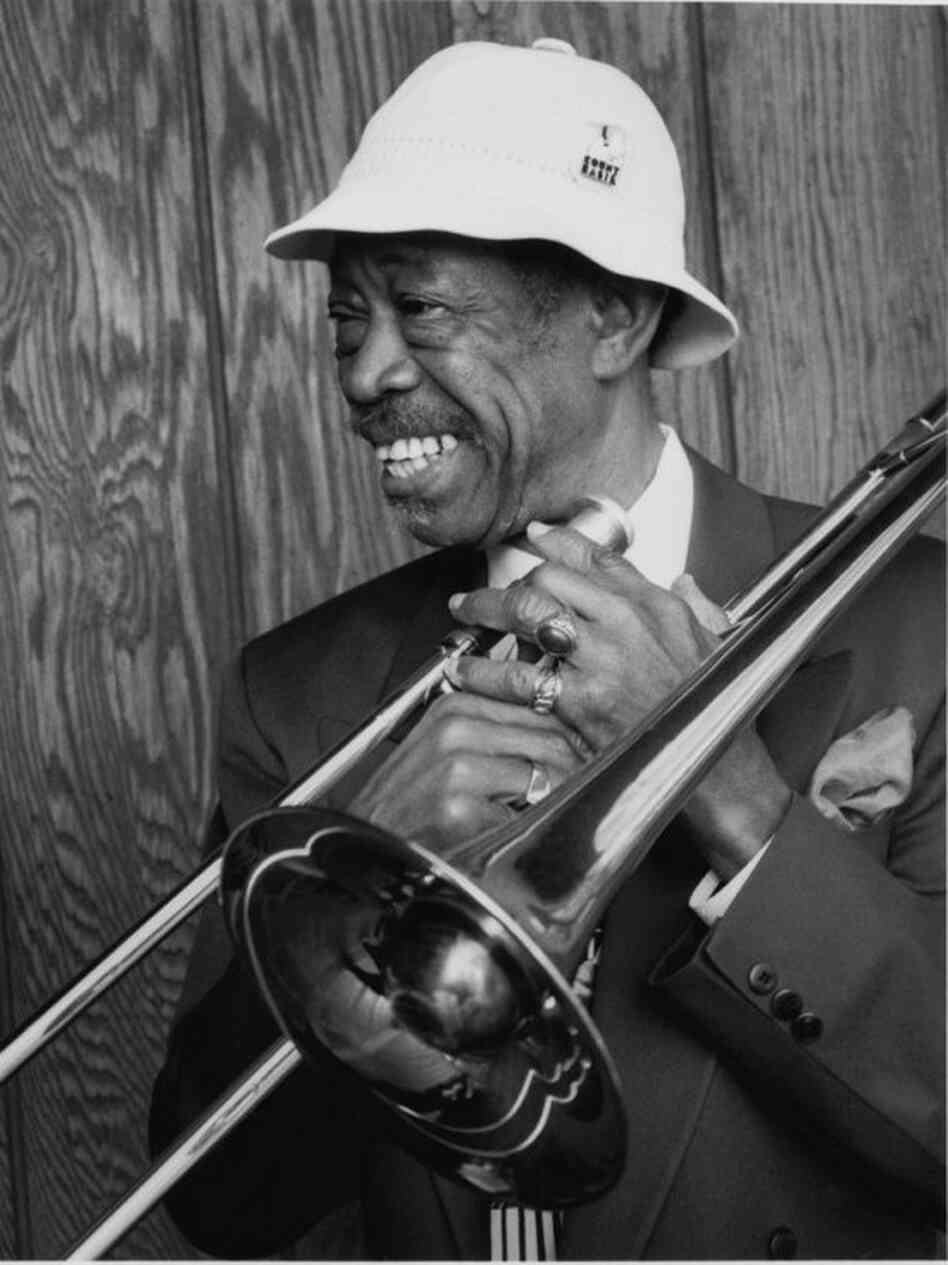 Al Grey used a plumber's implement to perfect a unique trombone style.