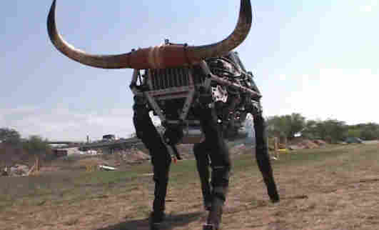 The Big Dog robot