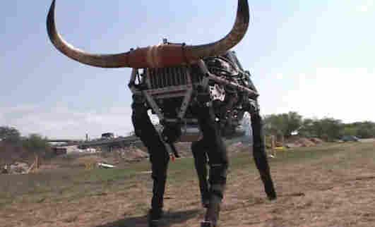 The Big Dog robot