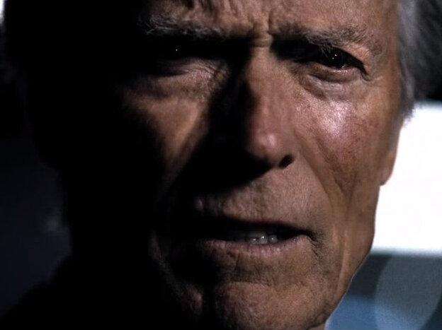 Clint Eastwood provided a Super Bowl surprise.