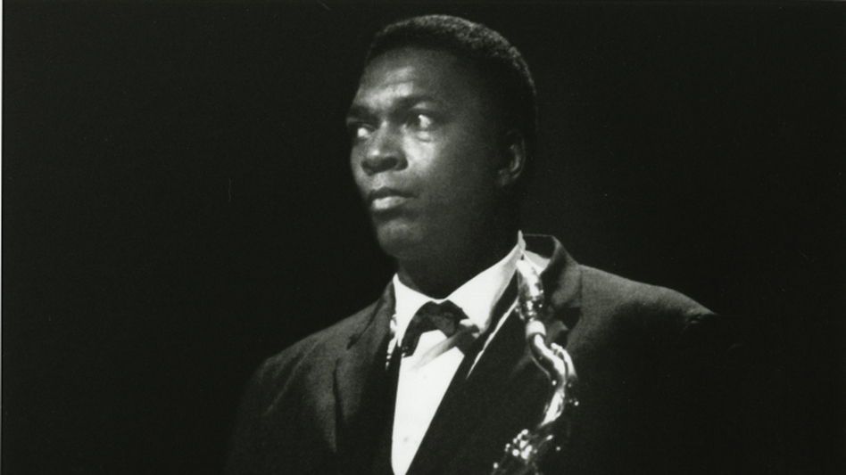 """John Coltrane's rapid stylistic evolution was not always admired as it is today: One critic called a 1961 performance """"anti-jazz,"""" and the label stuck with his detractors. (Courtesy of Concord Music Group)"""