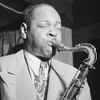 Coleman Hawkins performs live in 1946.