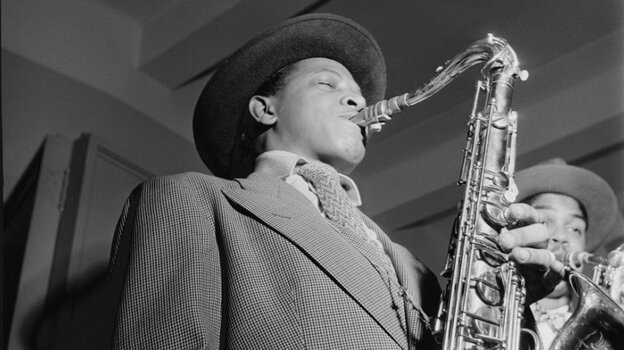 Illinois Jacquet's wild, screeching and full-toned style heralded a new approach to the tenor saxophone.