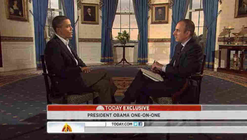 President Obama tells NBC's Matt Lauer the experience of being president has made him a better one.