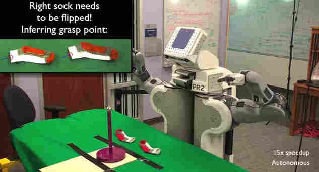 Robot With Socks