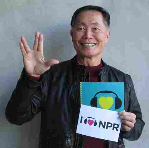 George Takei at NPR West.
