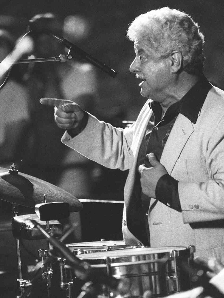Tito Puente, performing in 1983.