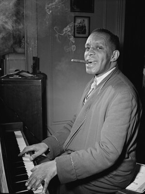 """Willie """"The Lion"""" Smith was a major influence on Duke Ellington, who wrote several compositions dedicated to him."""