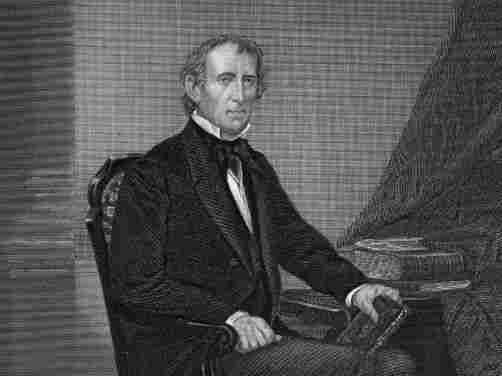 John Tyler (1790 - 1862), the 10th President of the United States of America, circa 1841.