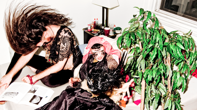 Grimes' new album, Visions, comes out Feb. 21 in North America.
