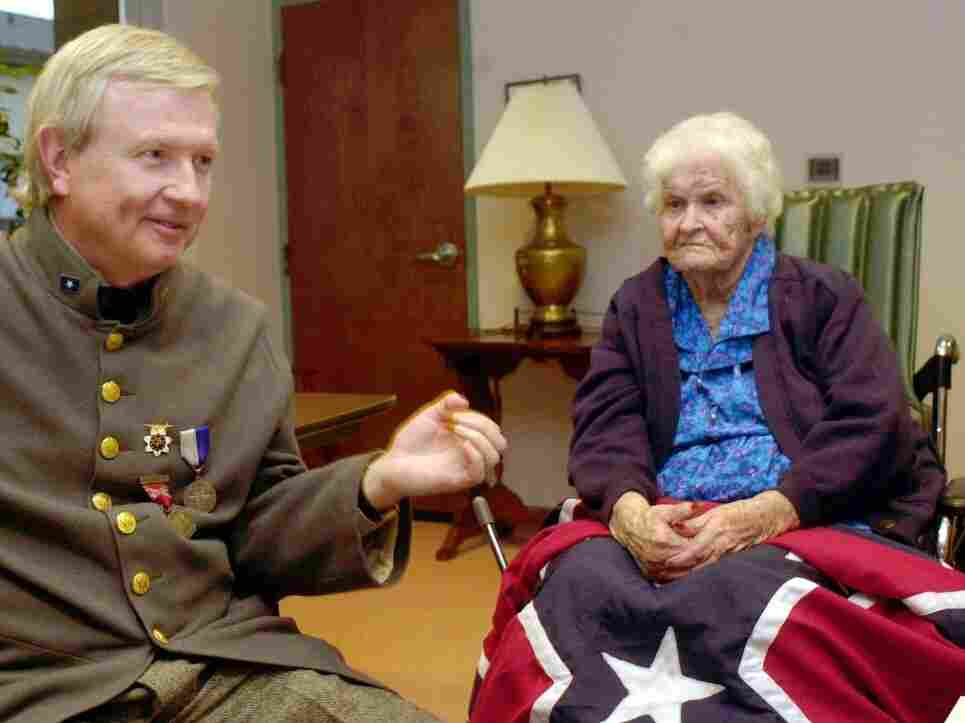 The last known Civil War widow, Alberta Martin, in a nursing home in Enterprise, Ala., on Monday April 7, 2003.
