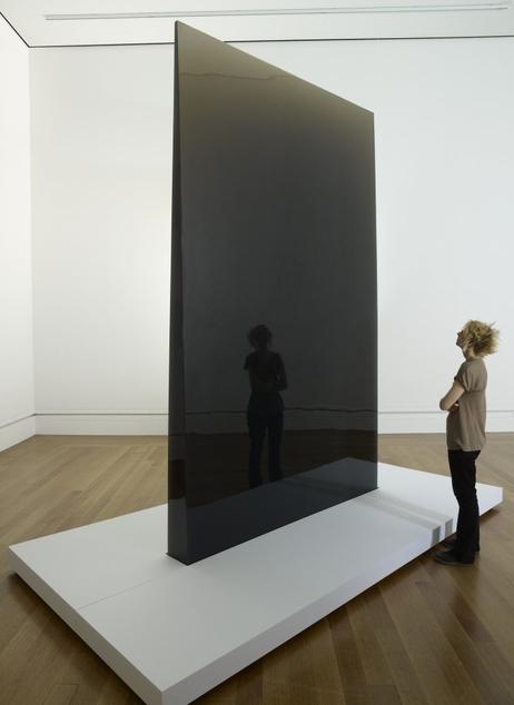 Gray Column, 1975 - 1976, by De Wain Valentine