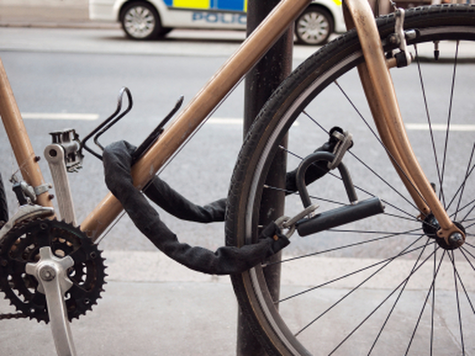 "Even locks won't stop the most ambitious thieves, Patrick Symmes warns: ""If they can't steal your whole bike, they'll steal the wheels. If they can't steal the wheels, they take the seat."""