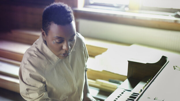 Me'Shell Ndegeocello's newest album is titled Weather.