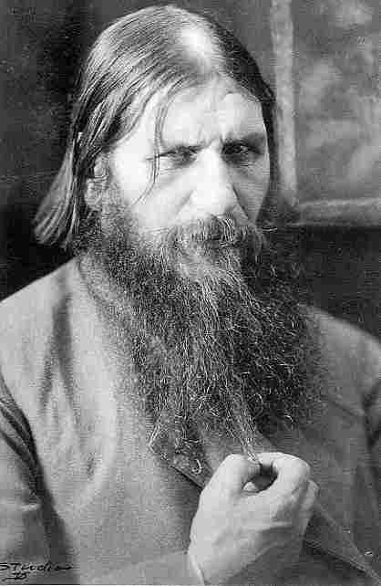 Grigory Yefimovich Rasputin (1871 - 1916).