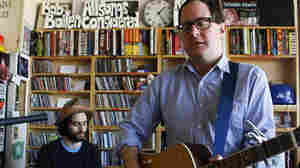 Craig Finn and Ricky Ray Jackson perform  a Tiny Desk Concert at the NPR Music offices on Jan. 18, 2012.