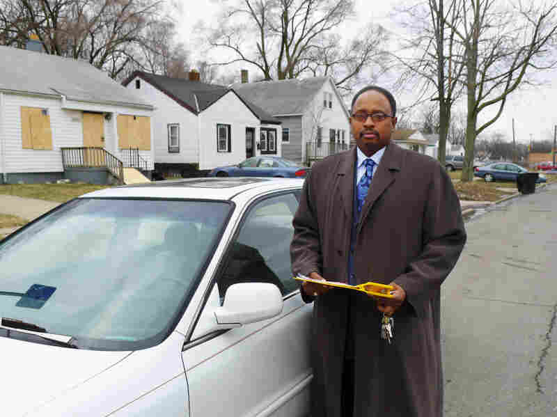 George Eason, an attendance agent with Detroit Public Schools, sets out to visit homes and check in with parents about school attendance.