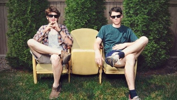 Brian Sella and Mathew Uychich of The Front Bottoms.