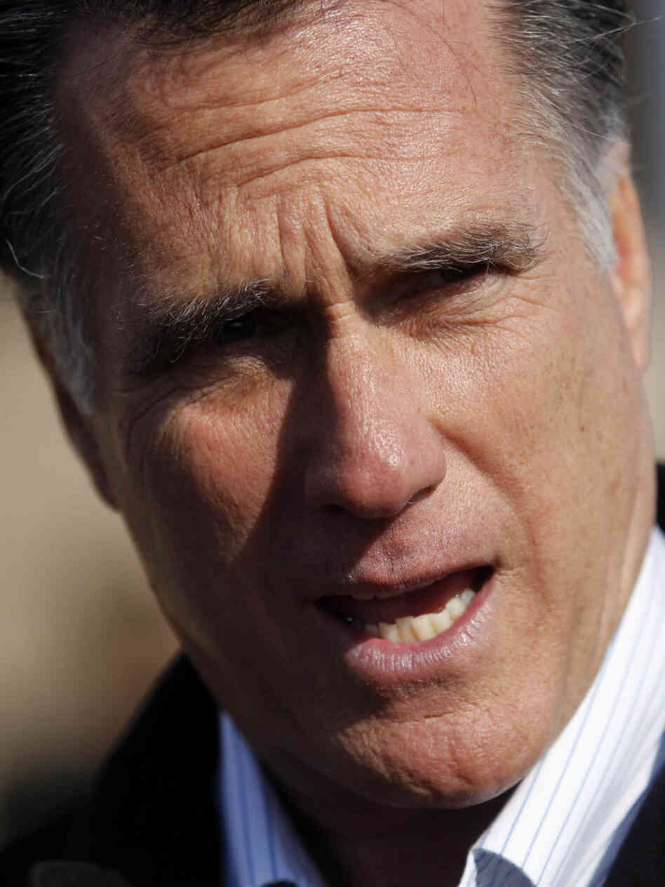 Mitt Romney in Atlanta, Feb. 8, 2012.