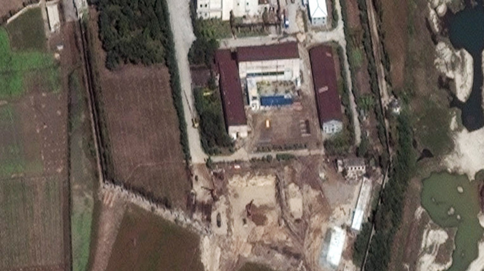 This satellite image provided by DigitalGlobe, taken in 2010, shows the Yongbyon nuclear complex in North Korea. The Institute for Science and International Security monitors satellite images for updates to nuclear facilities. (AP)