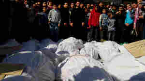 In Restive Syrian City, Signs Of Sectarian Violence