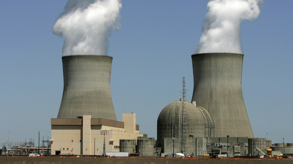 Steam rises from the cooling towers of nuclear reactors at Georgia Power's Plant Vogtle in Waynesboro, Ga. The U.S. Nuclear Regulatory Commission approved Southern Co.'s application to begin full construction of the nation's first new nuclear units since 1978 at Plant Vogtle.