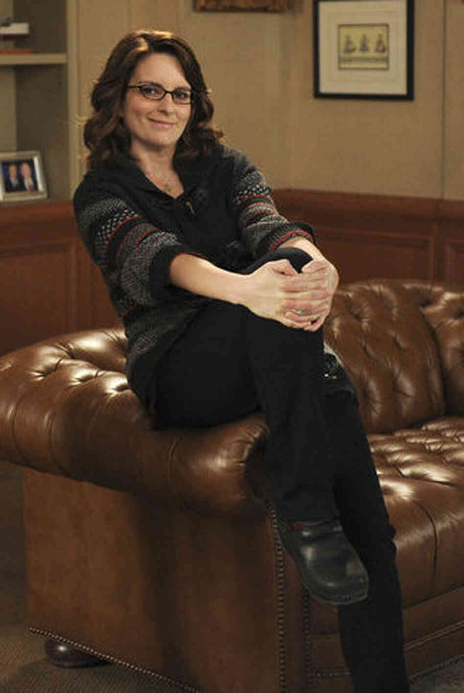 Tina Fey as Liz Lemon on NBC's 30 Rock.
