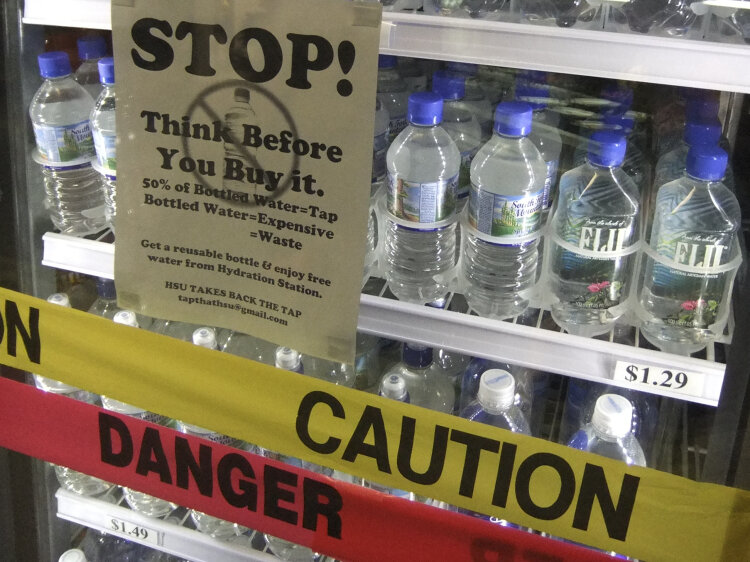 Water Bottle Challenge  As social media goes mad for the craze  we