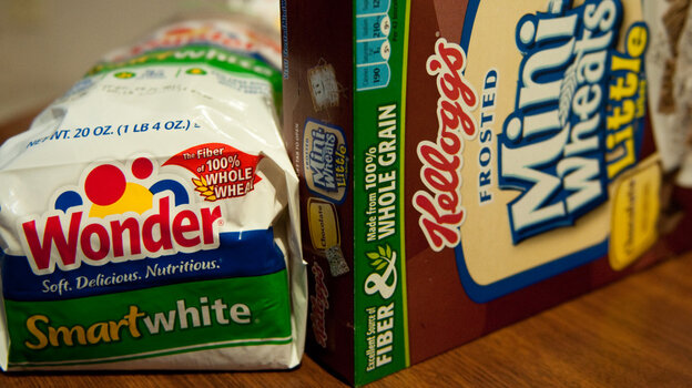 Food products need at least 3 grams of fiber to be labeled as a good source of fiber.