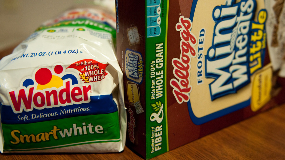 Food products need at least 3 grams of fiber to be labeled as a good source of fiber. (NPR)