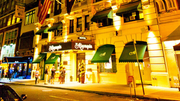 The Oak Room in the Algonquin Hotel, a top cabaret and jazz club in Manhattan, has closed.