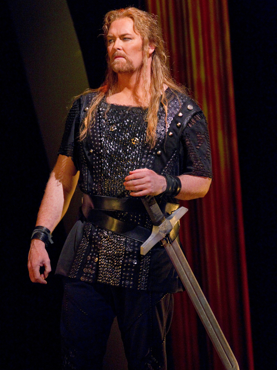 Jay Hunter Morris has received glowing reviews for his role as Siegfried in the Metropolitan Opera's most recent production of Wagner's <em>Ring Cycle</em>.