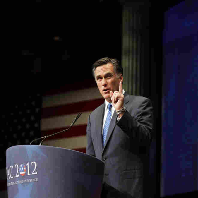 In Plea To The Right, Romney Bills Himself As 'Severely Conservative'