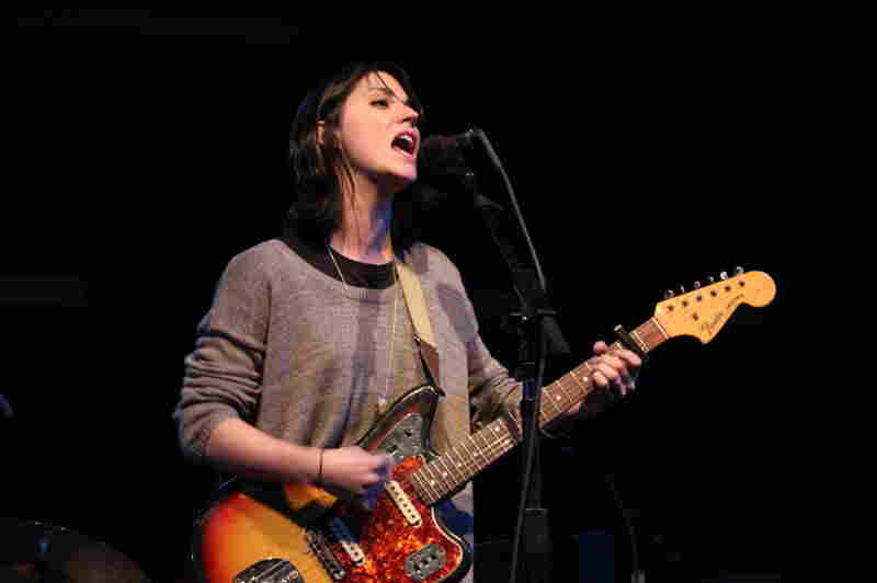 Sharon Van Etten performs songs from her wrenching new album, Tramp, at World Cafe Live.