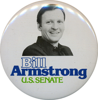 Bill Armstrong button