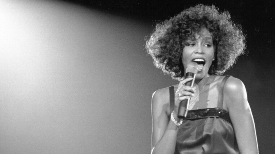 Whitney Houston performs in 1988. (Getty Images)