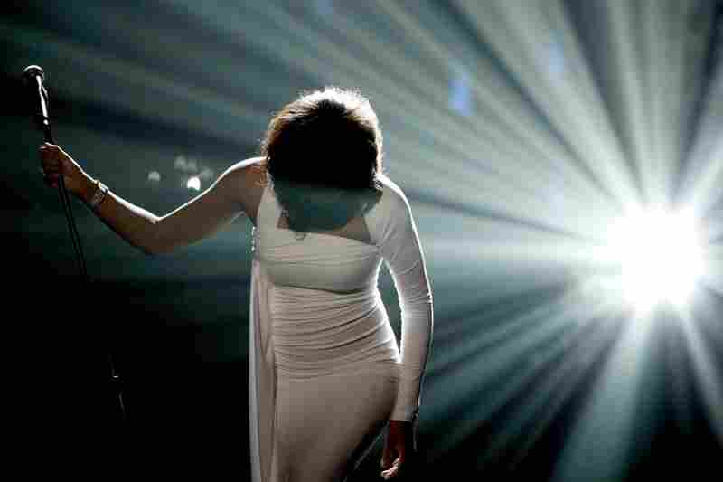 Whitney Houston performs at the 2009 American Music Awards. The singer was found dead on Saturday in a Beverly Hills hotel. She was 48.