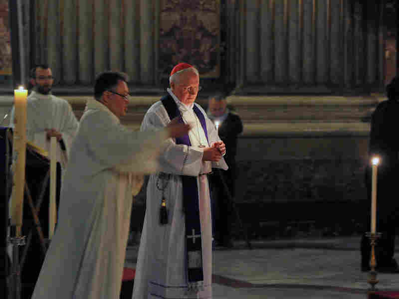 """A photo from the """"Penitential Vigil"""" Mass in the St. Ignatius Church in Rome during a """"Towards Healing and Renewal,"""" symposium for Catholic bishops on Feb. 7, 2012. The Catholic Church in the U.S. is fighting the Obama Administration mandate on birth control."""