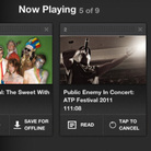 Create your own playlists and save them for offline listening with the new NPR Music iPad app.