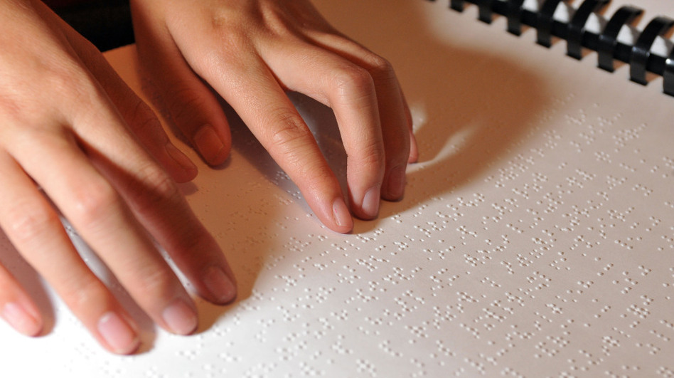 The National Federation of the Blind estimates that today only one in 10 blind people can read Braille. That's down dramatically from the 1900s.