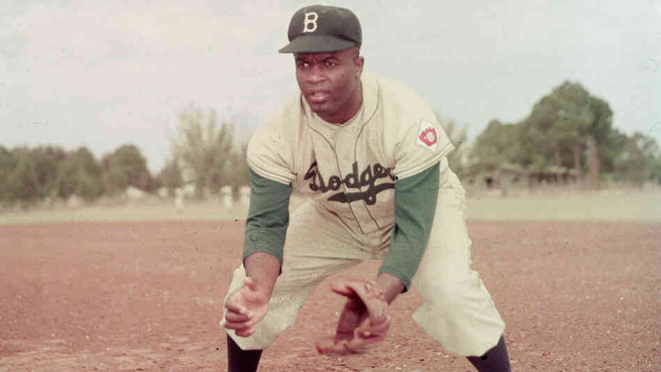 In 1947, Jackie Robinson broke the color barrier when he joined the Brooklyn Dodgers.