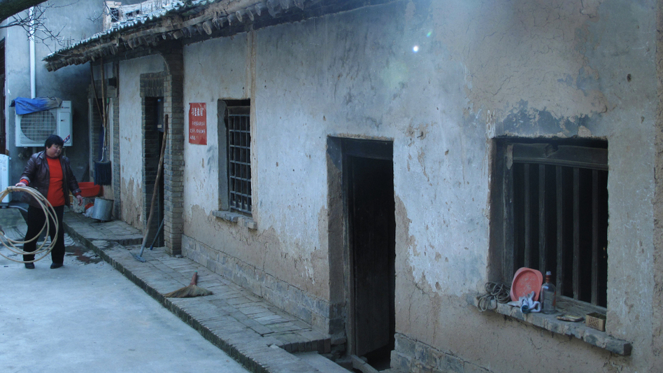 Family members still live in the ancestral home of Xi Jinping's father in Zhonghe village, Shaanxi province. (NPR)