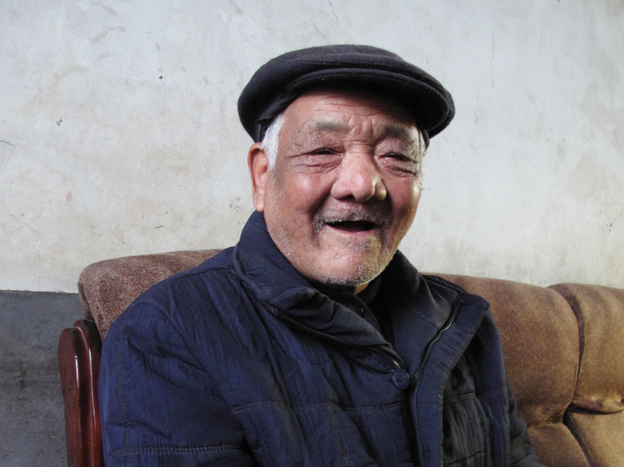 Xi Zhongfa, 81, is the uncle of Xi Jinping, the man who is almost certainly China's next president, but the elder Xi's living conditions are very basic, with no hot water inside his house and little heating.