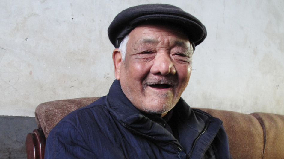 Xi Zhongfa, 81, is the uncle of Xi Jinping, the man who is almost certainly China's next president, but the elder Xi's living conditions are very basic, with no hot water inside his house and little heating.  (NPR)