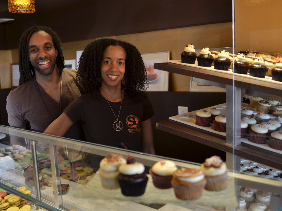 Timothy McIntosh and his sister Winnette McIntosh Ambrose both graduated from MIT with degrees in chemical engineering.They now own and operate The Sweet Lobby, a boutique bakery in Washington, D.C. (Carla Sims/Courtesy of The Sweet Lobby)