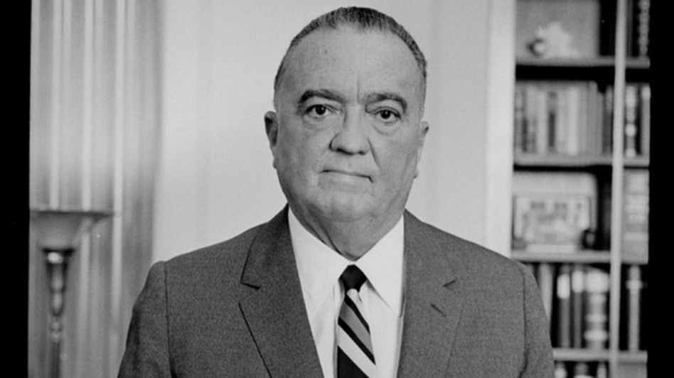 "J. Edgar Hoover was the first director of the FBI. He introduced fingerprinting and forensic techniques to the crime-fighting agency, and pushed for stronger federal laws to punish criminals who strayed across state lines. He also kept secret files on more than 20,000 Americans he deemed ""subversive."" (Library of Congress)"