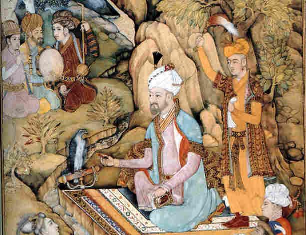 Babur, der Gründer des Mogulreiches.