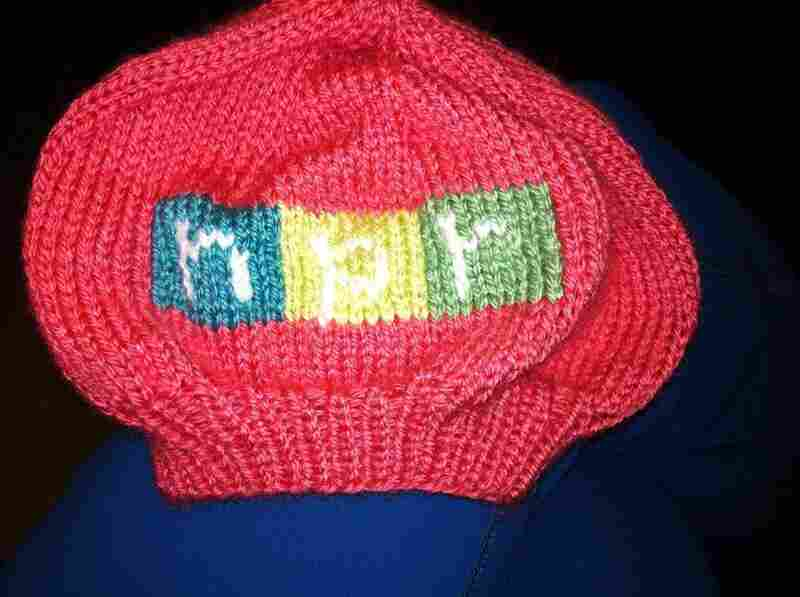 NPR's Erin Martin made this baby beret for a coworker's newborn.